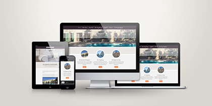 Webdesign Bastide de Bringairet