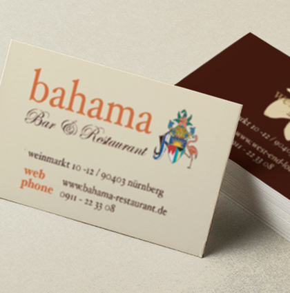 Corporate Design Bahama Bar & Restaurant