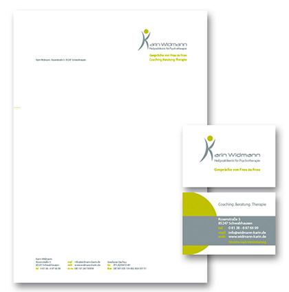 Kleines Corporate Design für Karin Widmann