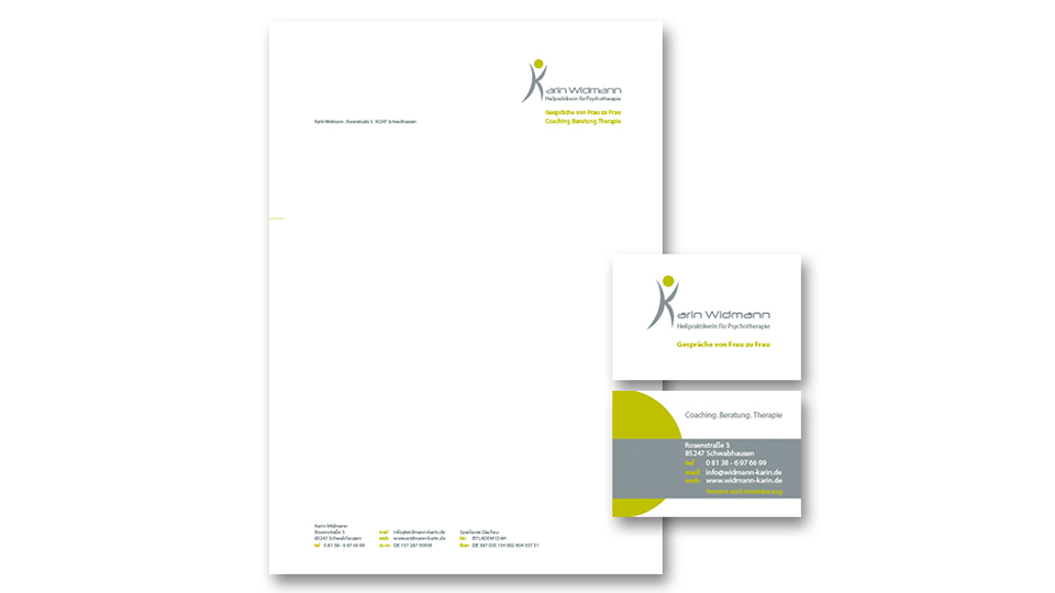 Kleines Corporate Design Karin Widmann