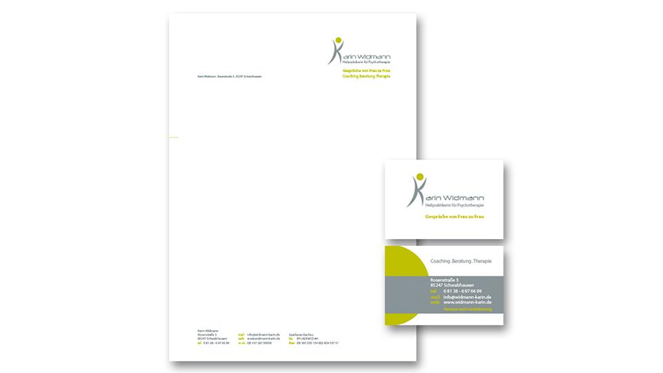 Kleines Corporate Design Karin Widmann
