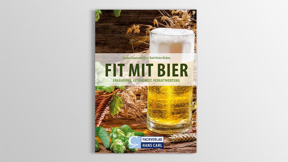 Buchdesign Fit mit Bier