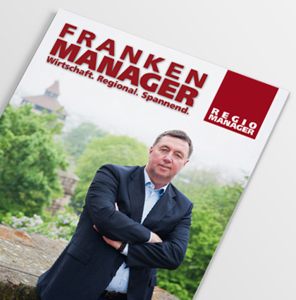 Editorial Design Franken Manager