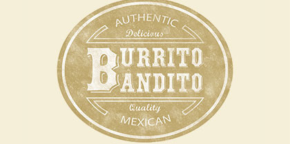 Logodesign für Burrito Bandito