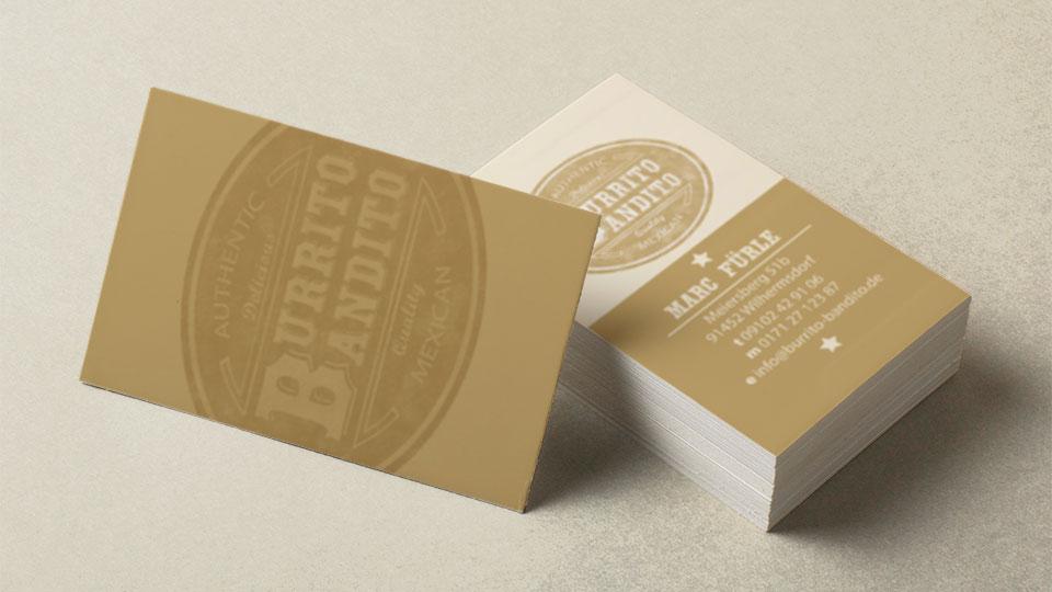 Corporate Design für den Foodtruck Burrito Bandito