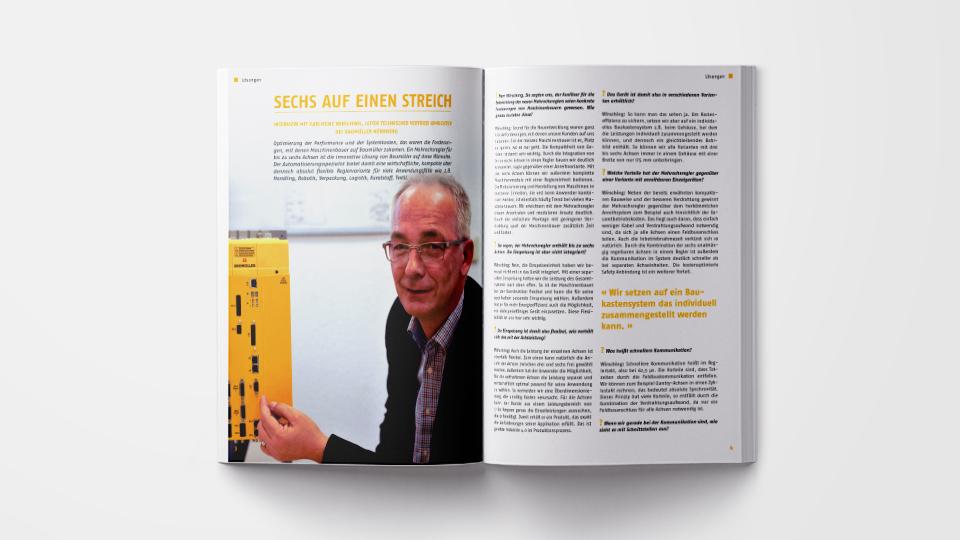 Baumüller Kundenmagazin ProMotion