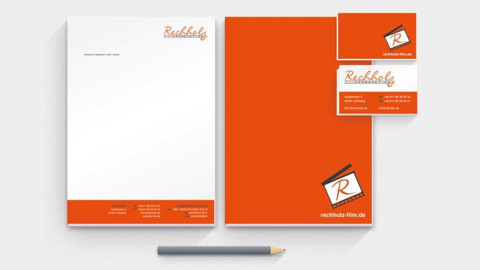 Corporate Design Rechholz Media