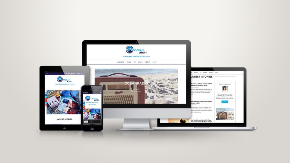 OceanAmp! Webdesign