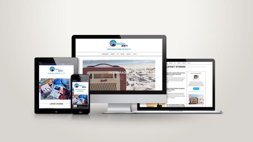 OceanAmp! Webdesign