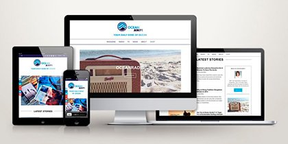Webdesign OceanAmp
