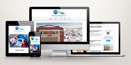 Webdesign OceanAmp
