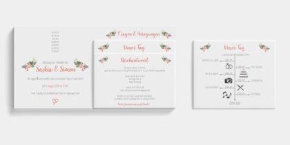 Individuelle Hochzeitskarten