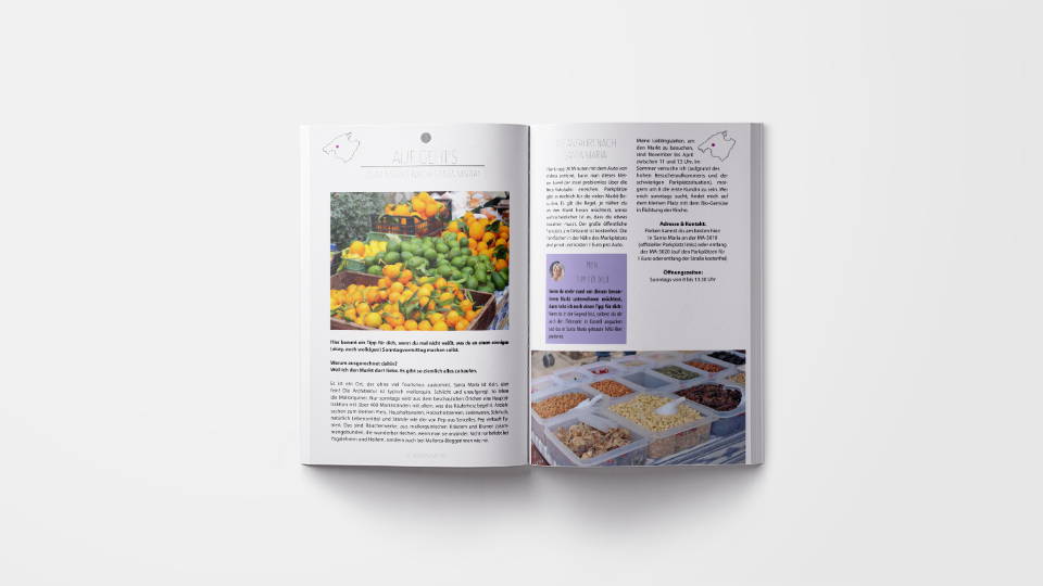 Buchdesign Mallorca mit uns